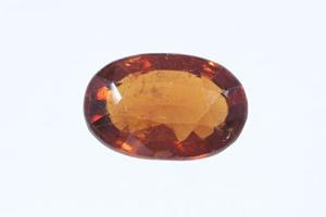 Hessonite gemstone (Gomed)