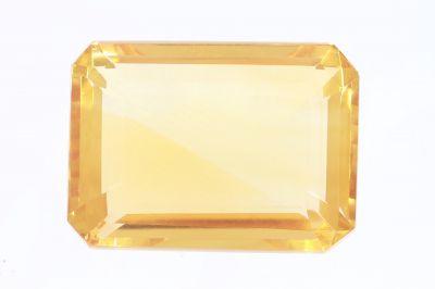 Golden Topaz Gemstone (Citrine/Sunehla) 22.35 Carat Weight - Origin India
