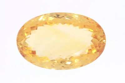Golden Topaz Gemstone (Citrine/Sunehla) 21.25 Carat Weight - Origin India