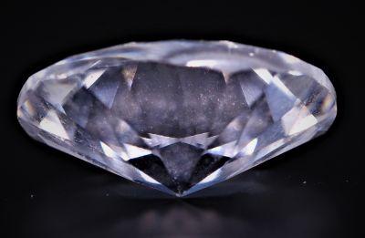 American Diamond (White Zircon Gemstone) - 15.00 Carat Weight - Origin USA