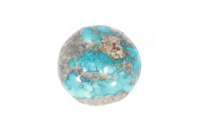 Turquoise Gemstone (Firoza ) - 19.50 Carat Weight - Origin Iran