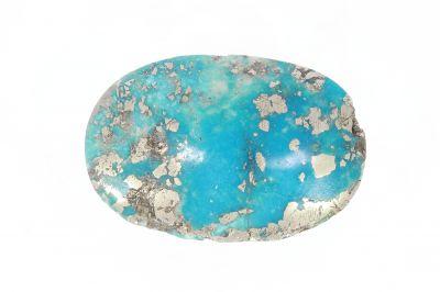 Turquoise Gemstone (Firoza ) - 45 Carat Weight - Origin Iran