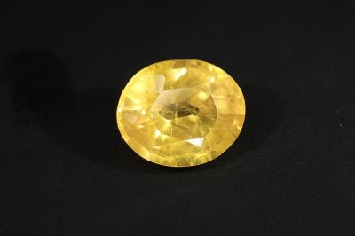 Yellow Sapphire Gemstone - Pukhraj Ratan - 5 Carat Weight - Thailand Origin