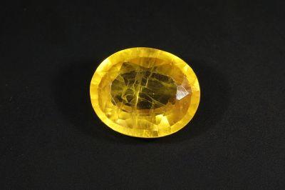 Yellow Sapphire Gemstone - Pukhraj Stone - 5 Carat Weight - Thailand Origin