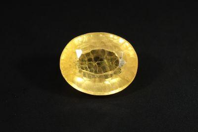 Yellow Sapphire Gemstone -(?????? ????) - 6.50 Carat Weight - Thailand Origin