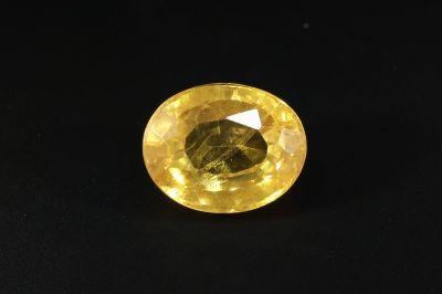 Yellow Sapphire Gemstone - Pukhraj gems - 5.50 Carat Weight - Thailand Origin