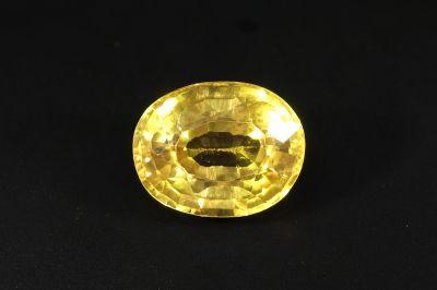 Original Yellow Sapphire Gemstone - Pukhraj - 6 Carat Weight - Thailand Origin