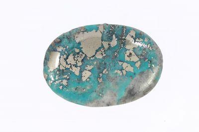 Original Turquoise Gemstone (Firoza ) - 8.50 Carat Weight - Origin Iran