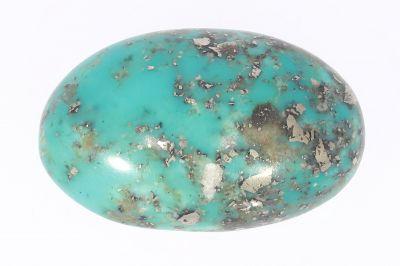 Original Turquoise Gemstone (Firoza ) - 23.25 Carat Weight - Origin Iran