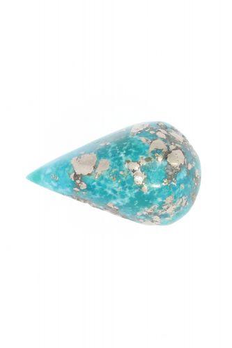 Original Turquoise Gemstone (Firoza ) - 18.00 Carat Weight - Origin Iran