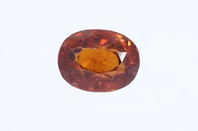 Hessonite Garnet (Gomed) - 6.50 Carat Weight - Origin Sri Lanka