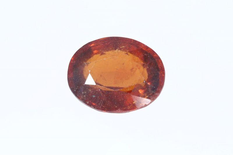 Hessonite Garnet (Gomed) - 6.00 Carat Weight - Origin Sri Lanka