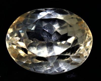 Natural Golden Topaz Gemstone (Citrine/Sunehla) 5.35 Carat Weight - Origin India