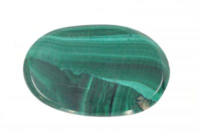 Natural Green Malachite Gemstone  (Kidney) - weight 16.50 Carat Origin India