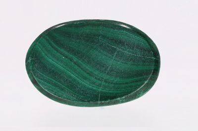 Natural Green Malachite Gemstone  (Kidney) - weight 17.50 Carat Origin India