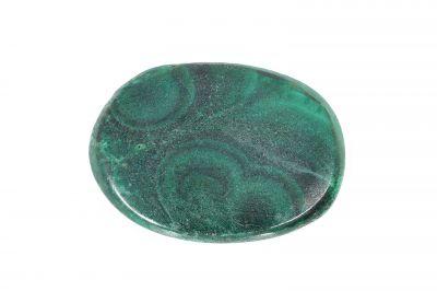 Natural Green Malachite Gemstone  (Kidney) - weight 13.25 Carat Origin India