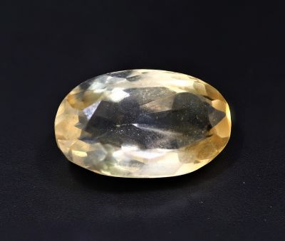 Golden Topaz stone (Citrine/Sunehla) 6.05 Carat Weight - Origin India
