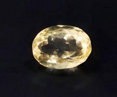 Golden Topaz stone (Citrine/Sunehla) 4.6 Carat Weight - Origin India