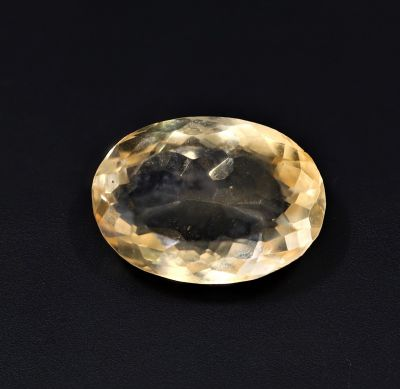 Natural Golden Topaz Gemstone (Citrine/Sunehla) 4.65 Carat Weight - Origin India