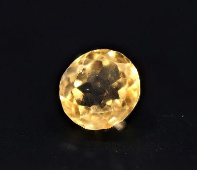 Natural Golden Topaz Gemstone (Citrine/Sunehla) 4.7 Carat Weight - Origin India