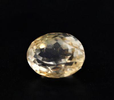 Natural Golden Topaz Gemstone (Citrine/Sunehla) 4.2 Carat Weight - Origin India