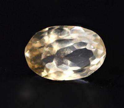 Natural Golden Topaz Gemstone (Citrine/Sunehla) 3.85 Carat Weight - Origin India