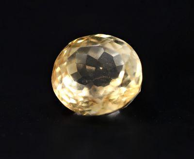 Natural Golden Topaz Gemstone (Citrine/Sunehla) 4.35 Carat Weight - Origin India