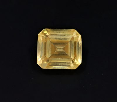 Original Golden Topaz Gemstone (Citrine/Sunehla) 8.7 Carat Weight - Origin India