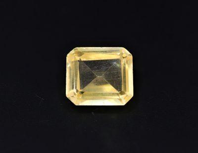 Original Golden Topaz Gemstone (Citrine/Sunehla) 6.9 Carat Weight - Origin India