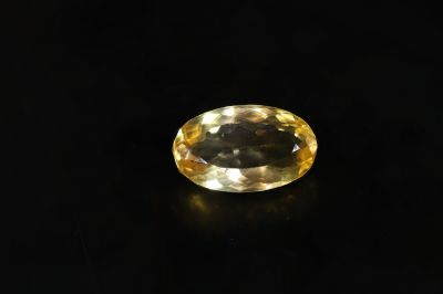Original Golden Topaz Gemstone (Citrine/Sunehla) 13.00 Carat Weight - Origin India