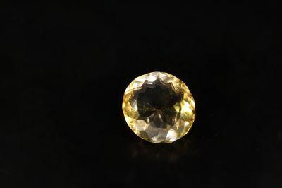 Golden Topaz Gemstone (Citrine/Sunehla) 14.00 Carat Weight - Origin India