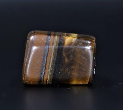 Natural Tiger Eye Gemstone - 60.50 Carat Weight - Origin India