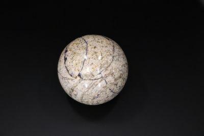 Old metal sphere Ball